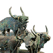 Vessel for Shells, Seven oxen design