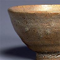 大井戸茶碗 有楽井戸 朝鮮 朝鮮時代・16世紀 [平成館 特別展示室]