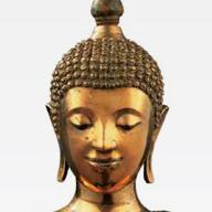 2. <i>Seated Buddha with Inscription (Luang Pho Nak)</i>