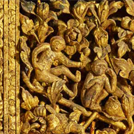 6. <i>Main Door Panel of Wat Suthat Thep Wararam, by Rama II</i>