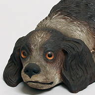 <i>Dog-shaped Ornament</i>, Dresden, Germany, 19th century (Gift of the Leipzig Museum of Ethnography)