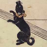 <i>Mother and Child Playing with a Dog</i>, By Suzuki Harunobu, Edo period, 18th century