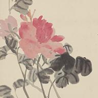 No.6 牡丹図軸