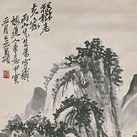 No.8 山水図軸